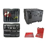 "Jensen Tools JTK-94WL Tool Kit in 14"" Deep Wheeled Case"