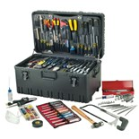 Jensen Tools JTK-97LW Deluxe Electro Mechanical Kit  in Roto-Rugged™ Wheeled Case