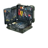 Jensen Tools Kit in Rugged Duty Poly Case, 17-3/4 x 14-1/2 x 9""