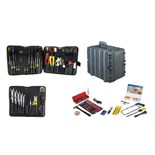 Jensen Tools Kit in Roto-Rugged™ Wheeled Case, 17-3/4 x 14-1/2 x 12""
