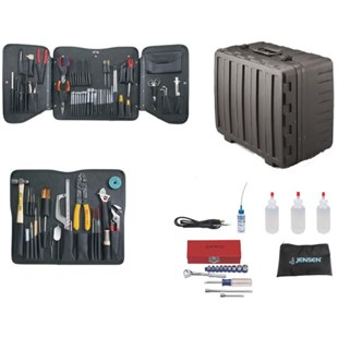 Jensen Tools JTK-99XRRT Electronic Technician's Service Kit in X-tra Rugged Rota-Tough Case