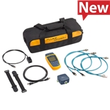 Fluke MS2-100-IE Cable Verifier, 10/100/1000 Industrial Ethernet Cabling, Adapter, Patch Cables, MS Series