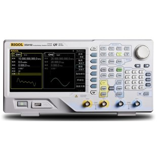 RIGOL DG4102 Arbitrary Waveform Generator, 100 MHz, 2 Channel, 500 MS/s, 14bit Resolution, 16 kpts, DG4000 Series