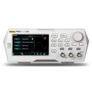 RIGOL DG832 Arbitrary Waveform Generator, 35 MHz, 2 Channel, 125 MS/s, 16bit Resolution, 2 Mpts, DG800 Series
