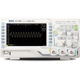 RIGOL DS1102Z-E Digital Oscilloscope, 100 MHz, 2 Channel, 1 GS/s, 24 Mpts, DS1000Z Series