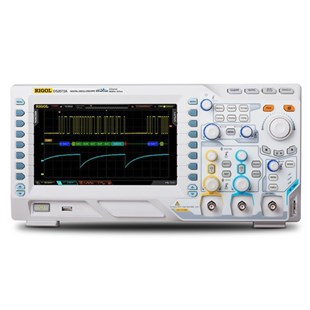 RIGOL DS2102A Digital Oscilloscope, 100 MHz, 2 Channel, 2 GS/s, 14 Mpts, 50 Ohm Input, DS2000A Series