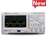 RIGOL MSO2202A-S Mixed Signal Oscilloscope, 200 MHz, 2 + 16 Channel, 2 GS/s, 14 Mpts, 50 Ohm Input, 2 Channel Source, MSO2000A Series