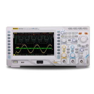 RIGOL MSO2302A-S Mixed Signal Oscilloscope, 300 MHz, 2 + 16 Channel, 2 GS/s, 14 Mpts, 50 Ohm Input, 2 Channel Source, MSO2000A Series