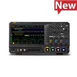 RIGOL MSO5072 Mixed Signal Oscilloscope, 70 MHz, 2 + 16 Channel, 8 GS/s, 100 Mpts, MSO5000 Series