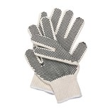 Condor Knit Dotted Glove Poly/Cotton, Mens/Large, Pair