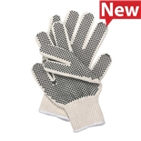5JK50 Condor Knit Dotted Glove Poly/Cotton, Mens/Large, Pair