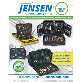 JENSEN Tools + Supply's Tool Kits to be a Cost-effective Custom Solution for electronics manufacture and general eMRO markets