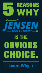 5 Reasons Why JENSEN Tools + Supply is the Obvious Choice. Learn Why